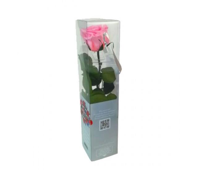 Роза на стебле мини (розовая)