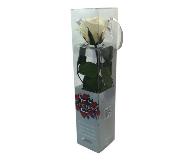 Роза на стебле мини (айвори)