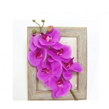 Искусственная ветка Орхидеи пурпурная