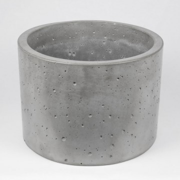 """Вазон из бетона """"Цилиндр 33"""""""