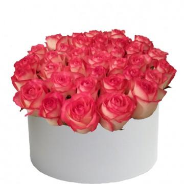 Букет в коробке №2 розы 25штук