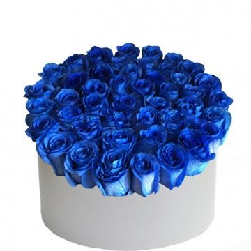 Букет в коробке №4 розы 25штук