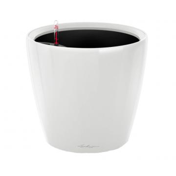 Вазон Classico Premium LS 28 Белый глянец (с кашпо и гидросистемой)