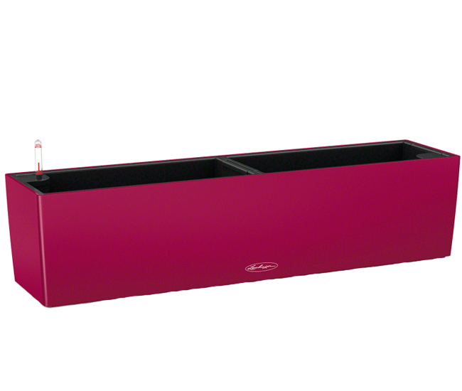 Вазон Balconera Color Гранат 80  (с кашпо и гидросистемой)