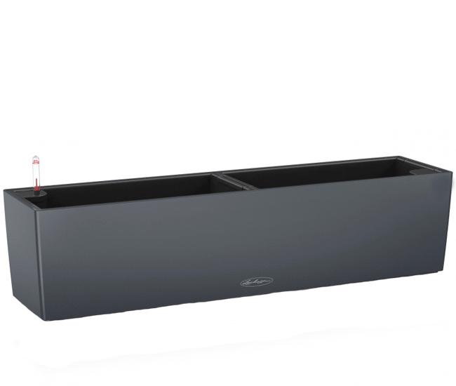 Вазон Balconera Color Серый 80  (с кашпо и гидросистемой)