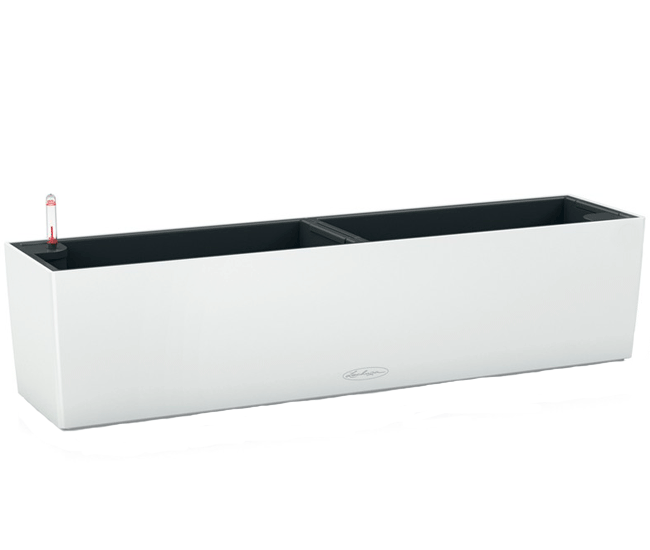 Вазон Balconera Color  Белый 80  (с кашпо и гидросистемой)
