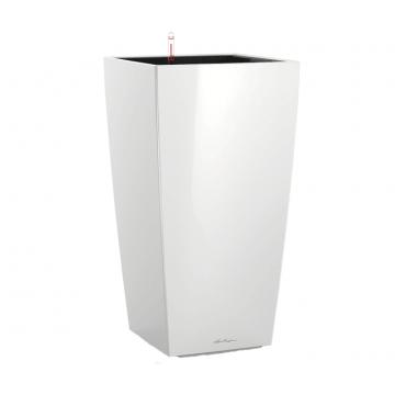 Вазон Cubico 50 Белый глянец (с кашпо и гидросистемой) под заказ