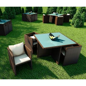 Комплект мебели Cubo (Modern) коричневый