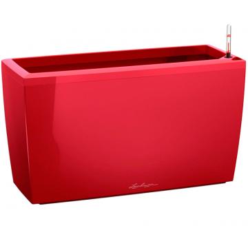 Вазон Cararo Красный глянец (с кашпо и гидросистемой)
