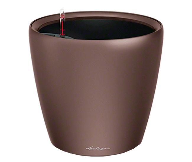 Вазон Classico Premium LS 28 Эспрессо отлив (с кашпо и гидросистемой)