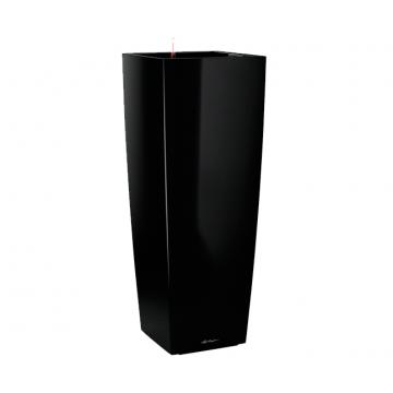 Вазон Cubico Alto черный (с кашпо и гидросистемой)