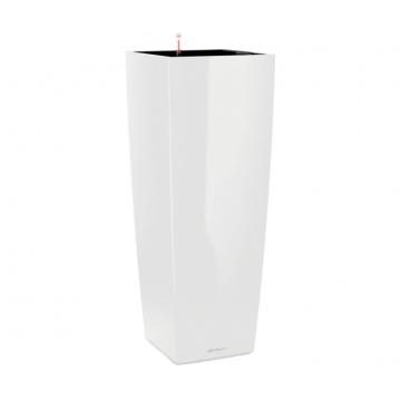 Вазон Cubico Alto белый (с кашпо и гидросистемой)