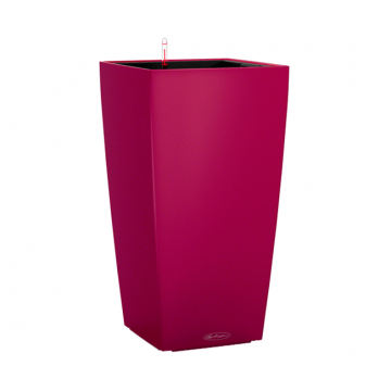 Вазон Cubico Color 30 Гранат (с кашпо и гидросистемой)