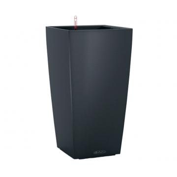 Вазон Cubico Color 30 Серый (с кашпо и гидросистемой)