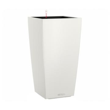 Вазон Cubico Color 30 Белый (с кашпо и гидросистемой)