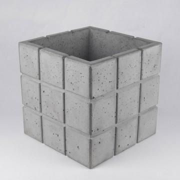"Вазон из бетона "" Куб Cuadrado 23"""