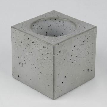 "Вазон из бетона ""Куб 10"""
