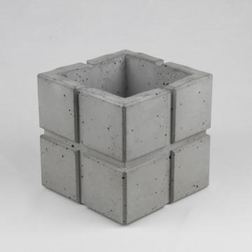"Вазон из бетона ""Cuadrado 11"""