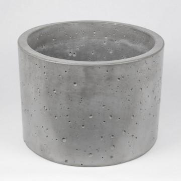 """Вазон из бетона """"Цилиндр 9"""""""