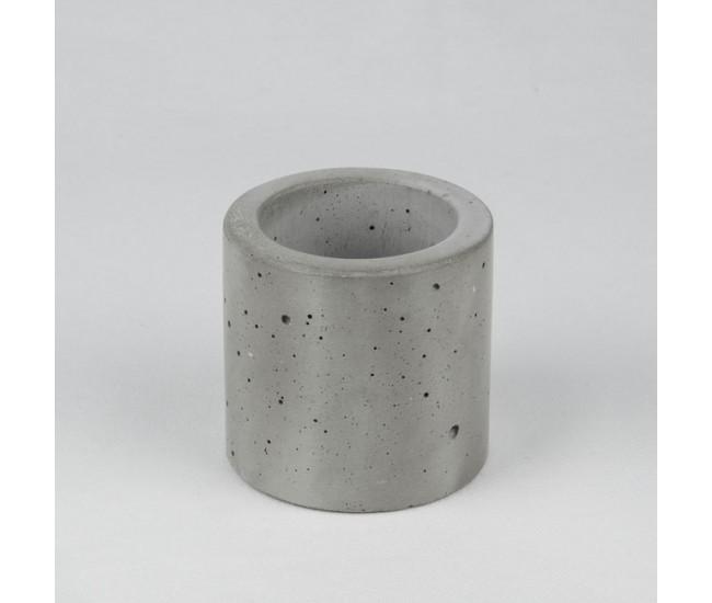 """Вазон из бетона """"Цилиндр 7"""""""