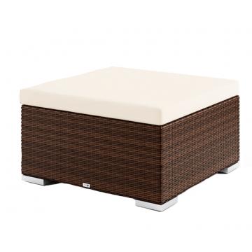 Столик/пуф со стеклом и подушкой Venezia (Modern)